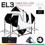EL3 STUDIO TABLE MOVABLE PACKSHOT โต๊ะถ่ายภาพสินค้าปรับองศาเคลื่อนที่ได้ 100x200 ซม.