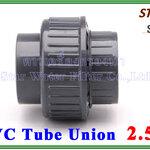 """ข้อต่อท่อ ยูเนี่ยน พีวีซี PVC Tube union 2.5"""" (ID:76 mm) (Star)"""