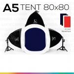 A5 TENT 80x80 ชุดไฟสตูดิโอถ่ายภาพแบบประหยัด