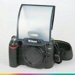 Pop-up Flash Sheet Diffuser แผ่นกระจายแสงสำหรับแฟลชหัวกล้อง