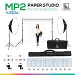 MP2 PAPER BACKDROP 2x11 m ชุดสตูดิโอฉากหลังกระดาษถ่ายภาพขนาด 2x11 เมตร