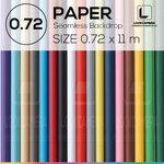 PAPER BACKDROP 72 ฉากกระดาษขนาด 0.72 x 11 เมตร (ใช้กับโครงฉาก M)