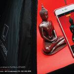 Review รีวิวถ่ายภาพสินค้าด้วย 2in1 Lookcamera Softbox 60x60 ตอนถ่ายพระบูชาด้วยฉากสี