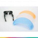 3 Color Pop-up Flash Diffuser อุปกรณ์ช่วยกระจายแสงแฟลชหัวกล้อง