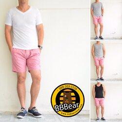 กางเกงขาสั้น BFactory (สีชมพู) - ไซส์ S, L, XL, XXL