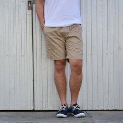 กางเกงขาสั้น BFactory (สีครีม) - ไซส์ S, M,L,XL,XXL