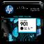 HP 901 ตลับหมึกอิงค์เจ็ท สีดำ Black Original Ink Cartridge (CC653AA)
