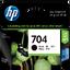 HP 704 ตลับหมึกอิงค์เจ็ท สีดำ Black Original Ink Advantage Cartridge (CN692AA)