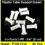 """อินเสิร์ทเสริมท่อน้ำ 1/4"""" Plastic tube support insert แพ๊ค 50 ชิ้น"""
