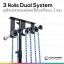 ชุดโครงฉากแขวนผนังและใช้กับขาตั้งแบบ 3 แกน 3 Rolls Dual System thumbnail 1