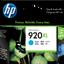 HP 920XL ตลับหมึกอิงค์เจ็ท สีฟ้า High Yield Cyan Original Ink Cartridge (CD972AA)