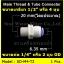 ข้อต่อตรง (1/2MIP x 1/4OD) Plastic สวมเร็ว Speed Fit