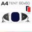 A4 TENT 60x60 ชุดไฟแสงนุ่ม ถ่ายภาพสินค้า เริ่มต้น thumbnail 1