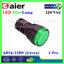 หลอดไฟ Pilot Indicator Lamp LED 220VAC เขียว