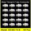 ข้อต่อตรง (1/4MIPx3/8OD) Plastic สวมเร็ว Speed Fit 50 pcs.