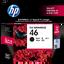 HP 46 ตลับหมึกอิงค์เจ็ท สีดำ Black Original Ink Advantage Cartridge (CZ637AA)