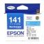 Epson T141290 (T141) หมึกพิมพ์อิงค์เจ็ต สีฟ้า Cyan Original Ink