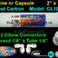 ไส้กรองน้ำ Post Carbon แคปซูล 10 นิ้ว x 2 นิ้ว USA (CL10RO T33)+ข้อต่อ Omnipure USA