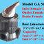 วาล์วควบคุมถังกรองน้ำ Manual Valve ( Metalic Handle) GA56A1