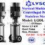 ปั๊ม Stainless Vertical Multistage แรงดันสูง 2 HP 15 ใบพัด 220V. Lyson