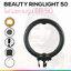 BEAUTY RINGLIGHT 50 ไฟวงแหวน หน้าใส ขาวสวย แบบมีประกายตา ไฟถ่าย live ไฟแต่งหน้า รีวิว ขนาด 50 ซม. thumbnail 1
