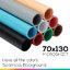 Microsheet 9 colors ( I love all the colors ) แผ่นไมโครชีท 9 สีขนาด 70x130 ซม thumbnail 1