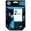 HP 10 ตลับหมึกอิงค์เจ็ท สีดำ Black Original Ink (C4844A)
