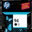 HP 94 ตลับหมึกอิงค์เจ็ท สีดำ Black Original Ink Cartridge (C8765WA)