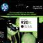 HP 920XL ตลับหมึกอิงค์เจ็ท สีดำ High Yield Black Original Ink Cartridge (CD975AA)