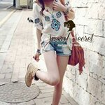 Best Item! Bohemian Girl Embroider Shape Blouse by Seoul Secret