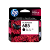 HP 685 ตลับหมึกอิงค์เจ็ท สีดำ Black Original Ink (CZ121AA)