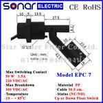 ลูกลอยไฟฟ้าเล็ก สวิทช์ลูกลอย Horizontal PP Float Switch (NC/NO) EPC7