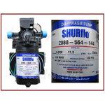 ปั๊มไดอะแฟรม Diaphragm (จ่ายน้ำ) SHURFLO 3 GPM Blue