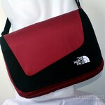 THE NORTH FACE - MESSENGER II -RED/BLACK