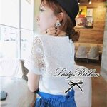 Pure White Crochet Blouse