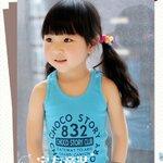 เสื้อกล้ามสีฟ้า kk050-101