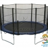 สปริงบอร์ดแทรมโพลีน trampoline ขนาด 14 ฟุต ขนาดใหญ่ รับน้ำหนักได้ถึง 180 kg.