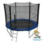 สปริงบอร์ดแทรมโพลีน trampoline 6 ฟุต เครื่องออกกำลังกายเพิ่มความสูง รับน้ำหนักได้ 110 kg