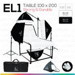 EL1 STUDIO TABLE MOVABLE PACKSHOT โต๊ะถ่ายภาพสินค้าปรับองศาเคลื่อนที่ได้ 100x200 ซม.