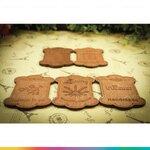 Wooden handmade Tag แผ่นไม้แฮนเมด